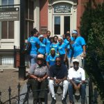 Game on! HBCUI interns compete in a scavenger hunt while exploring Historic Washington, D.C.